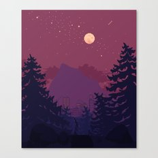 Dark Trail Canvas Print