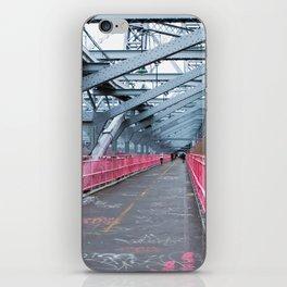 Across the Williamsburg Bridge iPhone Skin