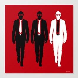 Threemen Canvas Print