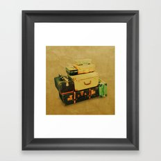 Time to Leave Framed Art Print