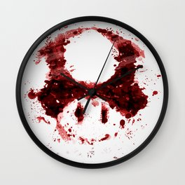 Graphic Nostalgia Wall Clock