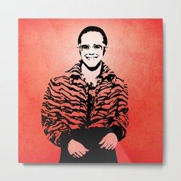 Elton  - Rocket Man - John - Pop Art Metal Print