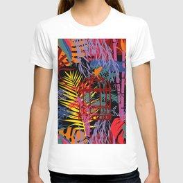 Chinoiserie Jungle Dream in Midnight Black T-shirt