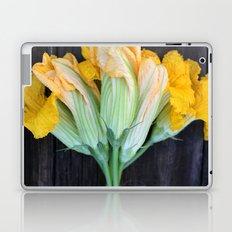 Squash Blossom Laptop & iPad Skin