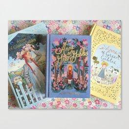 Anne of Green Gables Books Canvas Print