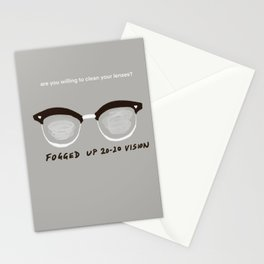 20-20 vision  Stationery Cards