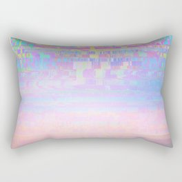 Displaced Rectangular Pillow