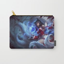 Classic Ahri League Of Legends Carry-All Pouch