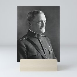 John J. Pershing - Commander of American Expeditionary Force Mini Art Print