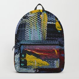 Abstract with Contrast Backpack