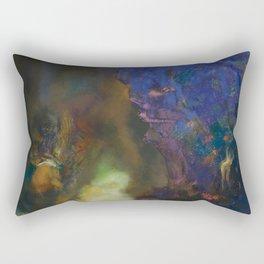 """Odilon Redon """"Roger et Angelica"""" Rectangular Pillow"""