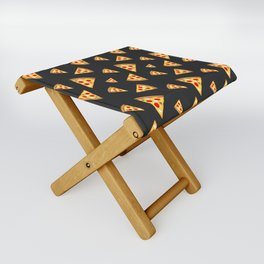 Cool and fun pizza slices pattern Folding Stool