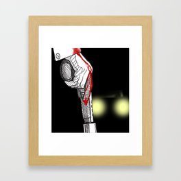 It All Ends Here... Framed Art Print