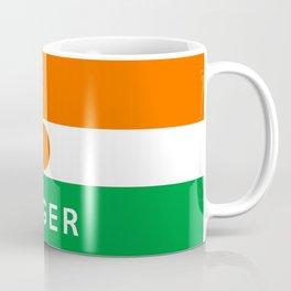 niger country flag name text Coffee Mug