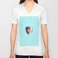 tyler the creator V-neck T-shirts featuring Tyler, The Creator, Incomplete by mrspotatohead