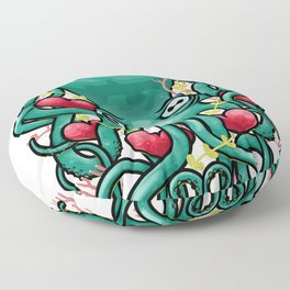 Octupus and Hearts Floor Pillow