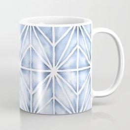 Modern Geometric Shibori Watercolour Coffee Mug