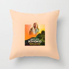 kiyoko tour Throw Pillow