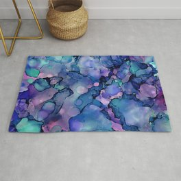 Abstract Alcohol Ink Painting 2 Rug