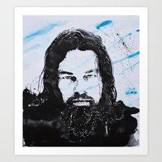 Leonardo DiCaprio -The revenant Art Print