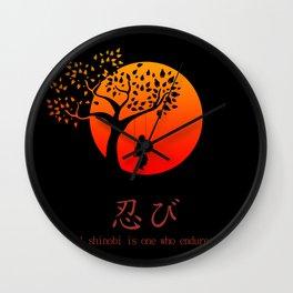 Shinobi Endures Wall Clock