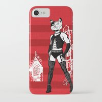 frank iPhone & iPod Cases featuring Frank by Captain Feline