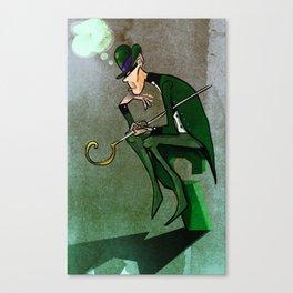 The Riddler Canvas Print