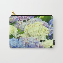 Hydrangea Flowers Mix Carry-All Pouch