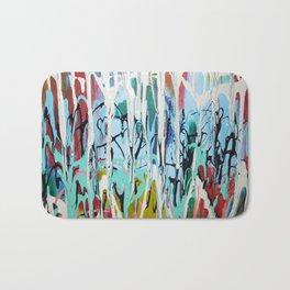 Paint Drip Bath Mat