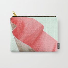Banana leaf red Carry-All Pouch