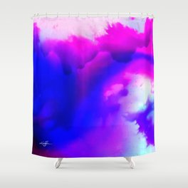 Abstract Bliss 1 by kathy Morton Stanion Shower Curtain