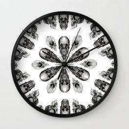 A Death Hex Wall Clock