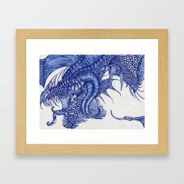 Dragon Intruder Framed Art Print