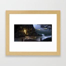 Magical Mine Framed Art Print