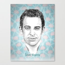 Sam Harris Canvas Print