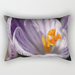 Crocuses Rectangular Pillow