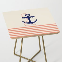 AFE Navy Anchor and Chain Side Table