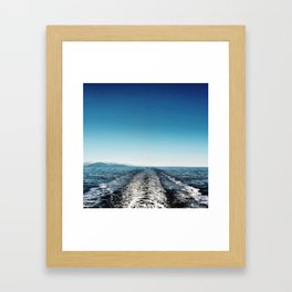 wake Framed Art Print