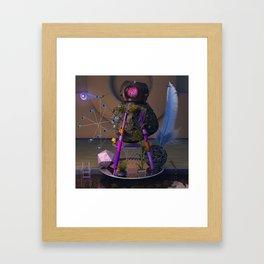 La casa Framed Art Print