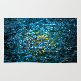 Water Color - Yellow Rug
