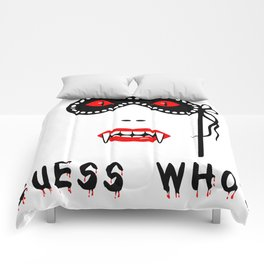 Halloween Guess Who Vampire Beauty Comforters