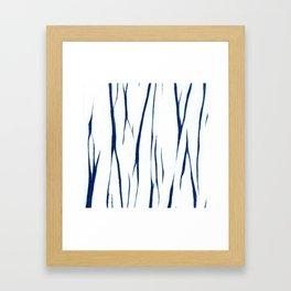 Shibori four Framed Art Print