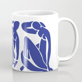 Blue Matisse Coffee Mug