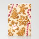 Gingerbread Cookies & Candy Canes by newburydesigns