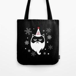 Santa Max (White) Tote Bag
