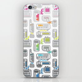 Electronica iPhone Skin