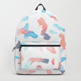Abstract life of watercolour Backpack