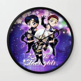 Chibi Sailor Starlights Wall Clock