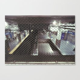 above the 2nd st el Canvas Print