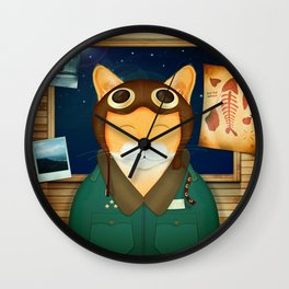 Aviator Cat Wall Clock
